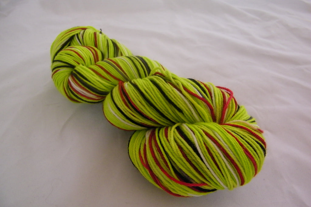 You're a Mean One! Six Stripe Self Striping Yarn