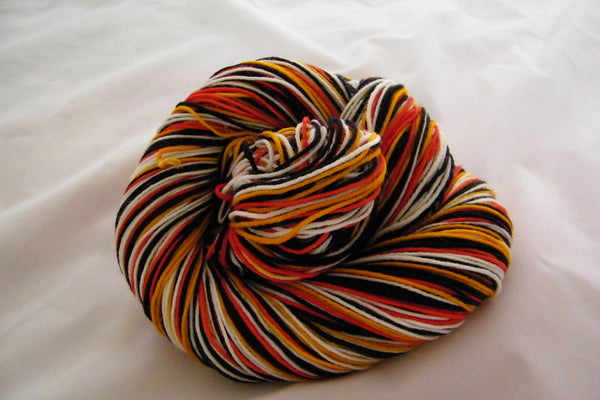 Puffins Four Stripe Self Striping Yarn