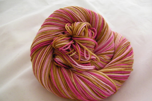 Le Pink Panther Four Stripe Self Striping Yarn