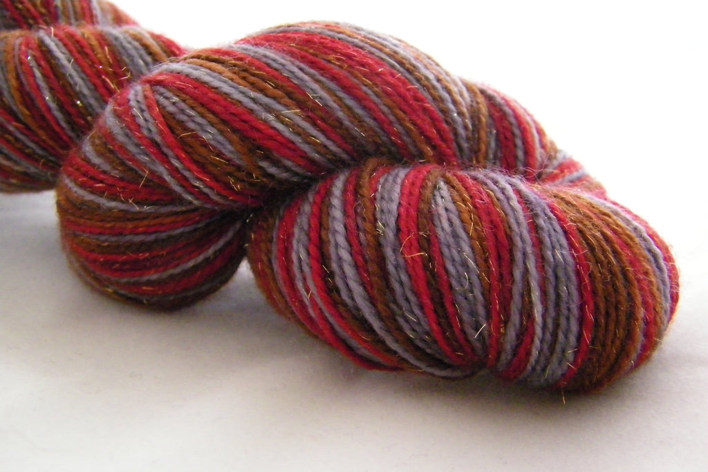 Partridge  in a Pear Tree Three Stripe Self Striping Yarn