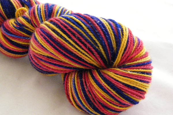 Drummers Drumming Three Stripe Self Striping Yarn