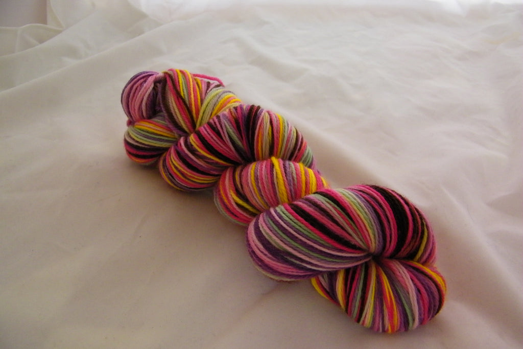 Laduree Macaroons Six Stripe Self Striping Yarn