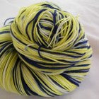 Lemon Blueberry Cake Four Stripe Self Striping Yarn