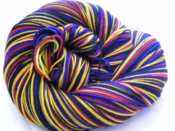 Walk Like A Man & Because We Can Six Stripe Self Striping Yarn