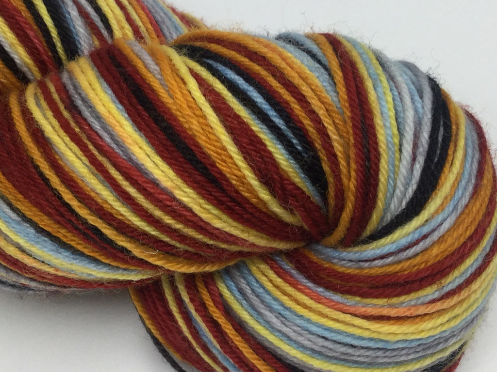 Ever in Your Favor Six Stripe Self Striping Yarn