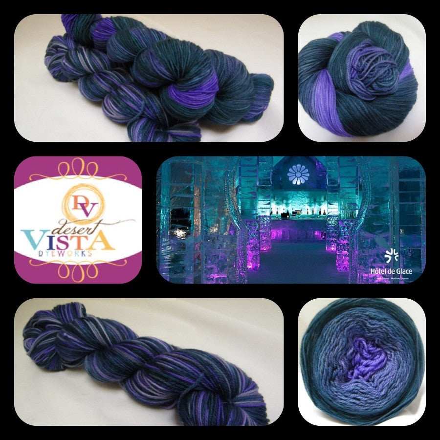 Castle of Ice Variegated Yarn
