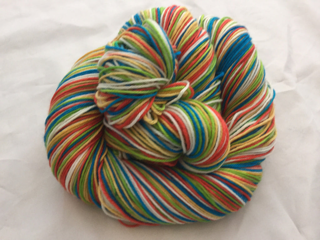Woodstock Five Stripe Self Striping Yarn