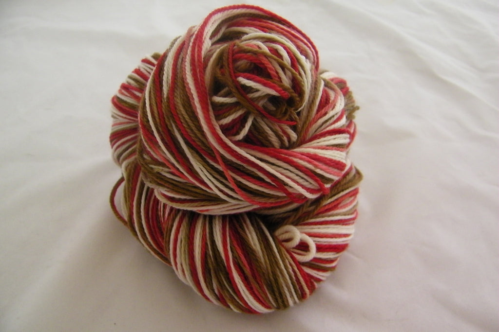 Peppermint Hot Chocolate Variegated Yarn