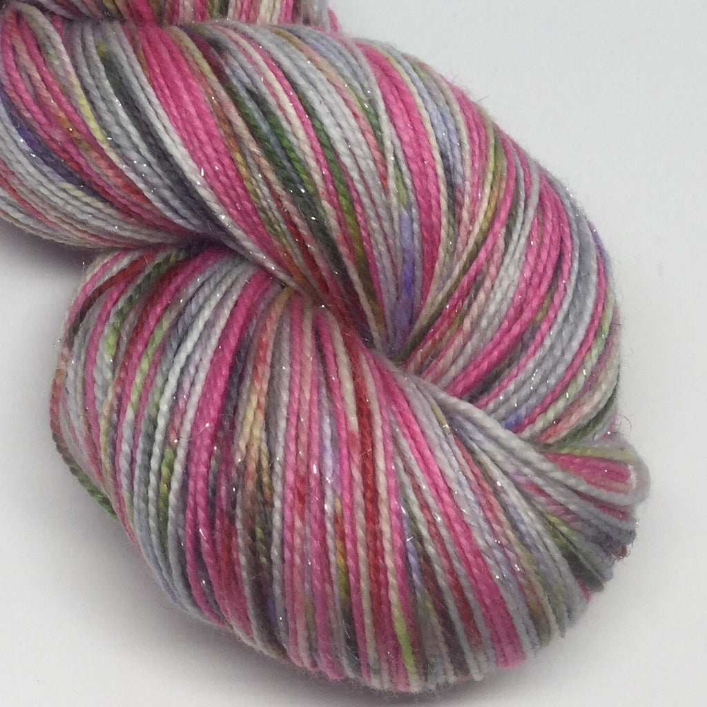 Zombody is a Good Witch Four Stripe Self Striping Yarn