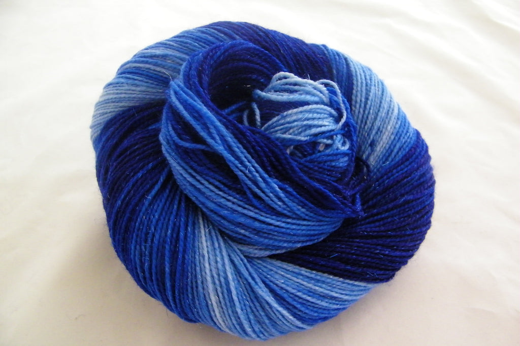 Blue Christmas Without You Gradient Yarn