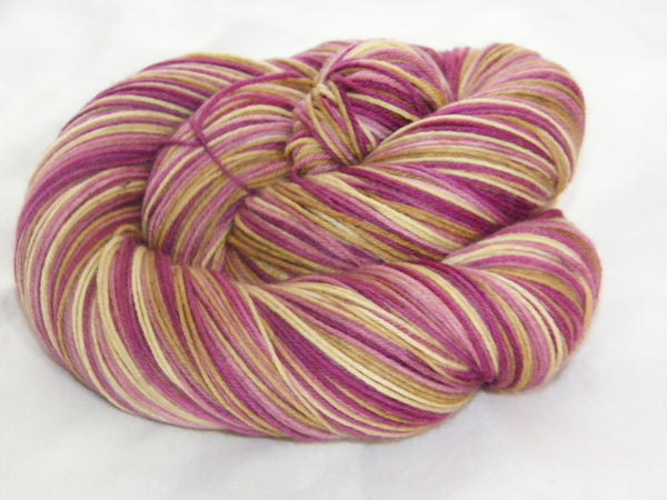 Janis Inspired Four Stripe Self Striping Yarn