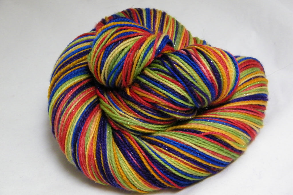 Morrocan Tea Cups Eight Stripe Self Striping Yarn