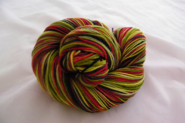 LadyBug Four Stripe Self Striping Yarn