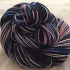 Halley's Comet Inspired Four Stripe Self Striping Yarn