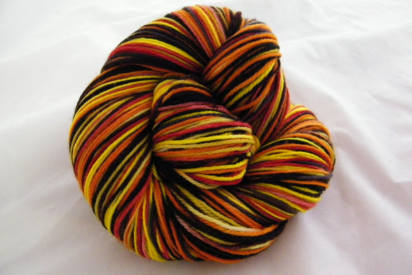 Cowboy Sunset Six Stripe Self Striping Yarn