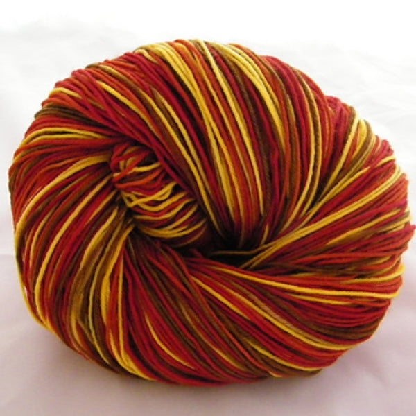 Grade School Turkey Four Stripe Self Striping Sock Yarn