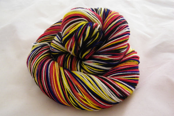 Disco Duck Five Stripe Self Striping Yarn
