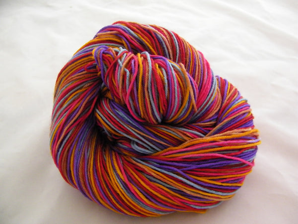 Burano Six Stripe Self Striping Yarn