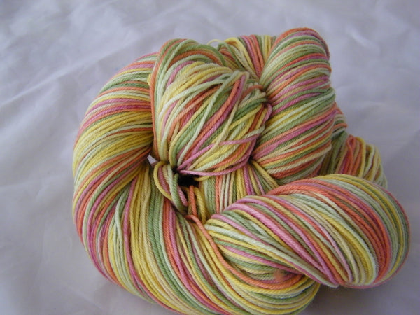 Walking on Sunshine Six Stripe Self Striping Yarn