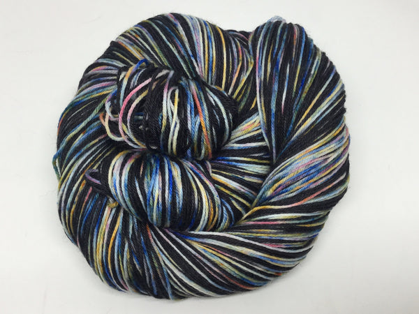 Dead Clown BBQ Four Stripe Self Striping Yarn