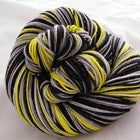 Color Accents - Yellow Six Stripe Self Striping Yarn