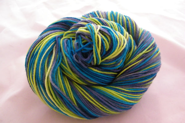 Northern Lights Three Stripe Self Striping Yarn