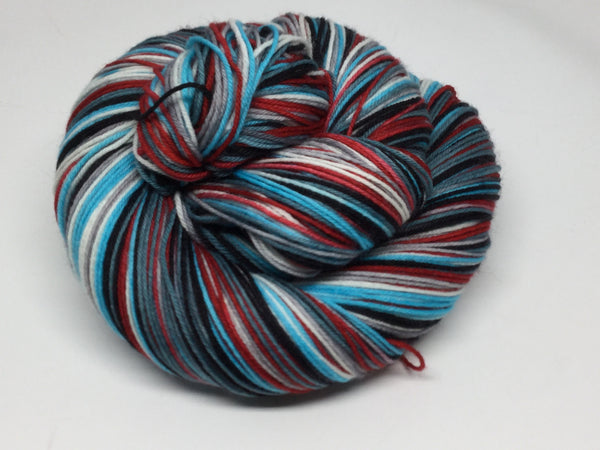 Hamlet Six Stripe Self Striping Yarn