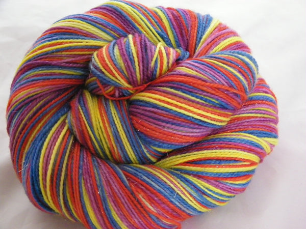 Cyndi Inspired Four Stripe Self Striping Yarn