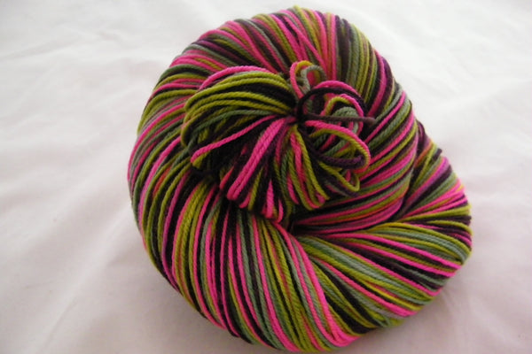 Puff the Magic Dragon Four Stripe Self Striping Yarn