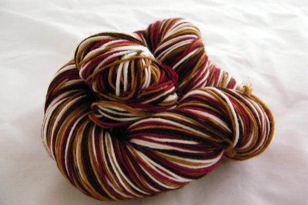 Black Forest Cake Four Stripe Self Striping Yarn