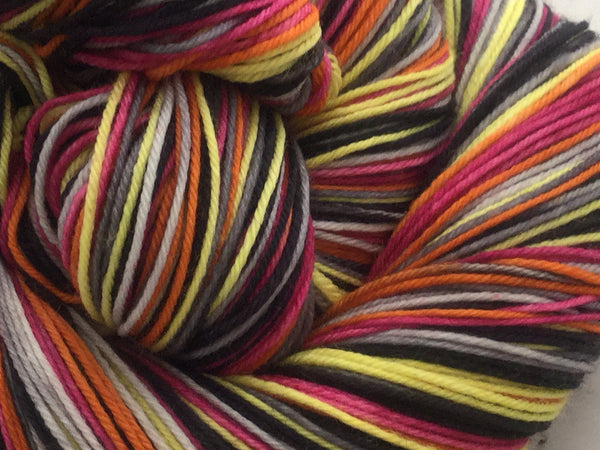 Bing and the Andrew Sisters Six Stripe Self Striping Yarn
