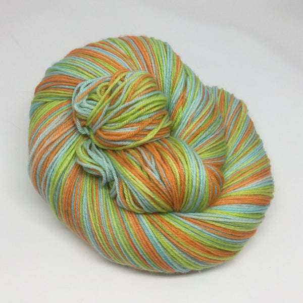 No, David Three Stripe Self Striping Yarn