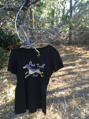 "Ladies ""Design Your Own"" Trail Dog shirt"