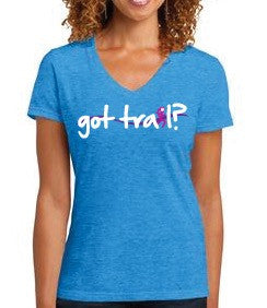 "Ladies ""Design Your Own"" Trail Runner/Hiker t-shirt"