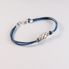 Handmade Sterling Silver Celtic Knot Bracelet with Matching Earrings