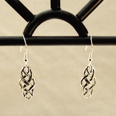 Celtic Knot Sterling Silver Earrings