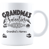 Grandma's Sweeties Personalized Mug
