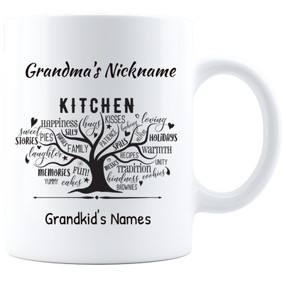 Grandma's Secret Ingredients Personalized Mug