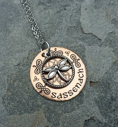 Sassenach Bronze Necklace