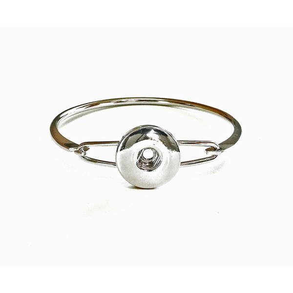 Snap Jewel Silver Princess Bracelet