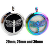 Dragonfly Essential Oils Stainless Steel Perfume Diffuser Locket