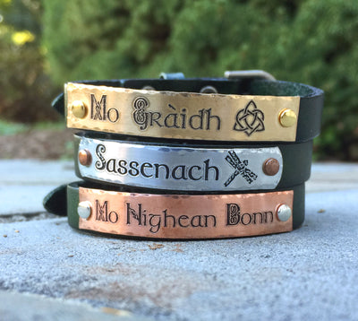 Mo Nighean Donn Leather Bracelet