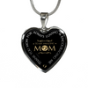 Thank You Mom For Always Loving Stainless Steel Pendant Necklace