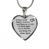 If Tears Could Build A Stairway Bereavement Memorial Necklace