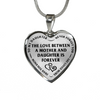 Love Between Daughter And Mother Is Forever Stainless Steel Necklace