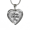 Happy Mother's Day Wife Of My Dreams Stainless Steel Pendant Necklace