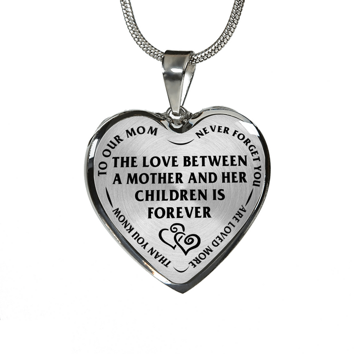 Mother children love between is forever stainless steel pendant mother children love between is forever stainless steel pendant necklace aloadofball Images