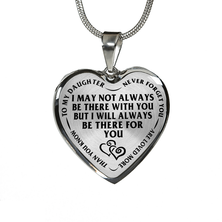 Mother daughter always there for you stainless steel pendant mother daughter always there for you stainless steel pendant necklace aloadofball Images
