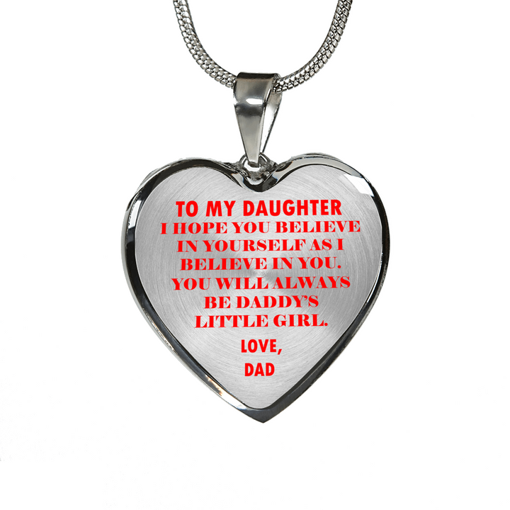 75075314864 To My Daughter - Daddy's Little Girl Bracelet - Sassenach Jewelry