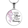 Grammy Grandmother How Much My Heart Can Hold Necklace